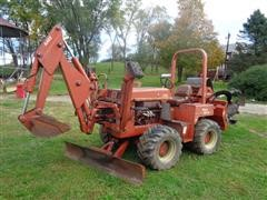 Ditch Witch 5700 DD Trencher w/Backhoe, Blade, and Auger