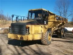 1998 Caterpillar D300E 6x6 Articulated Dump Truck W/Tailgate