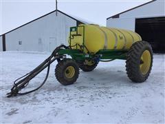 Fast Pull-Behind Sprayer Tank