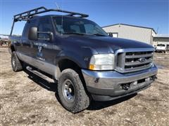 2004 Ford F250 Lariat Super Duty 4x4 Crew Cab Pickup