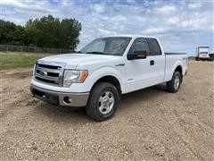 2013 Ford F150XLT 4x4 Extended Cab Pickup