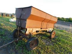 David Bradley Steel Box Wagon W/Hoist