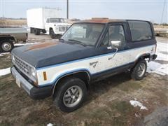 1985 Ford Bronco II SUV
