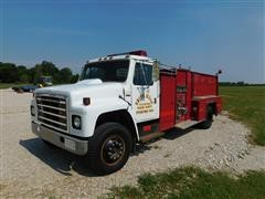 1980 International 1724 Fire Truck
