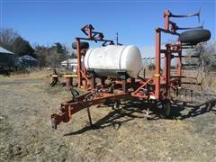 Sunflower 233124 24' Pull-Type Field Cultivator W/Harrow & Tank