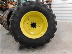 John Deere /Michelin Mach X BIB 710/70R42 Dual Tires & Rims
