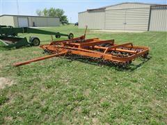 Western Land Roller 15' Sprocket Soil Packer