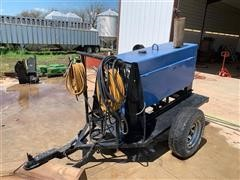 Miller Big 40 Trailer Mounted DC Arc Welder