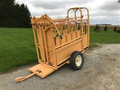 For-Most 150W Portable Chute W/30 Headgate