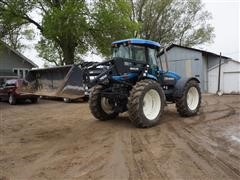 2000 New Holland TV140 Bi-Directional 4WD Tractor