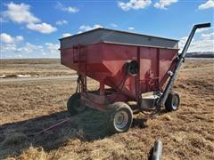 M&W Gravity Wagon W/Ficklin Seed Tender Auger