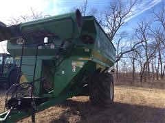 2013 J&M 1000 Grain Storm Grain Cart