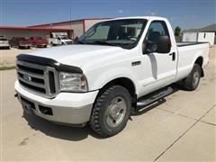 2007 Ford F250 XLT Super Duty 2WD Pickup