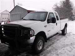 2002 Ford Super Duty F 350 4x4 Extended Cab Pickup