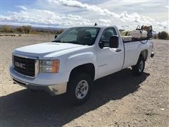 2009 GMC 2500 4x4 Single Cab Weed Sprayer Truck