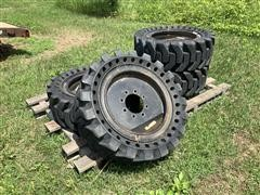 Galaxy 33x12-20 Beefy Baby SDS Airless Skid Steer Tires