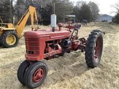 Farmall H 2WD Tractor W/Sickle Mower
