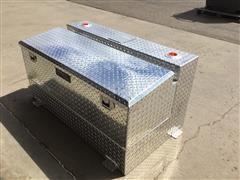 TrailFX Aluminum Tank/ Tool Box Combo
