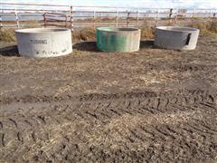 Cushing Cement Livestock Water Tanks