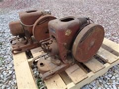 McCormick-Deering & International Antique Gas Engines