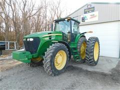 2009 John Deere 7830 MFWD Tractor