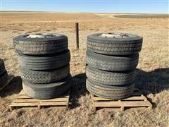 295/75R22.5 Tires & Rims