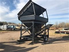 Extractec FC-30 Grizzly Screen/Feeder Hopper