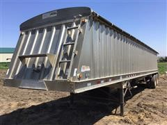 2010 Dakota 4100 AHT T/A Hopper Bottom Grain Trailer