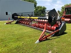 2001 Case IH 1020 25' Flex Header W/Crary Air Reel