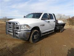 2014 RAM 3500 4x4 Flatbed Pickup
