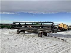 1998 MacDon 962 30' Draper Header & Transport