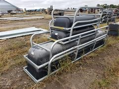 Behlen Galvanized Steel/Poly Feed Bunks