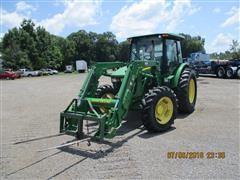 2002 John Deere 5105 4WD Tractor