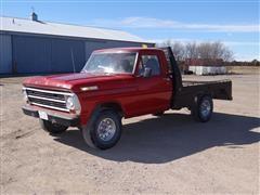 1968 Ford F100 4X4 Flatbed Pickup