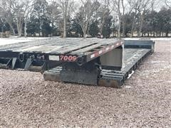 2001 Talbert TDW-30-SRG-T1 T/A Detachable Lowboy