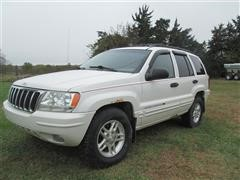 2002 Jeep Grand Cherokee Special Edition 4x4 SUV