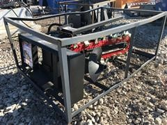 2018 SUIHE X052-15 Trencher Skid Steer Attachment