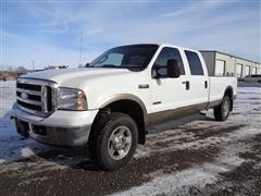 2006 Ford Lariat F250 Super Duty Crew Cab Long Bed Pickup