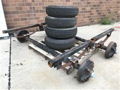 Trailer Axle & Wheel& Tire Assy's