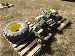 John Deere Wide Front, 7.50-16 Tires & Rims