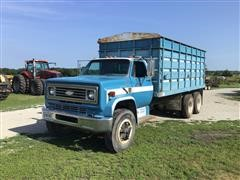 1975 Chevrolet C65 10 Wheel T/A Grain Truck