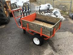 Country Home PW6S Motorized Yard Cart