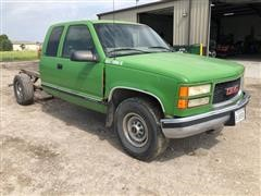 2000 GMC 2500 SL 2WD Extended Cab Pickup