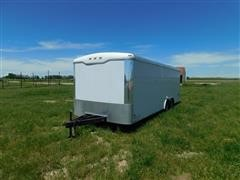 2007 Haulmark TH85X22WT2 T/A Enclosed Trailer