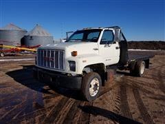 1992 GMC TopKick Flatbed Truck