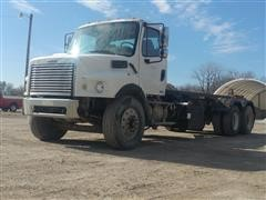 2007 Freightliner M2106V Business Class M2 T/A Roll-Off Dumpster Truck
