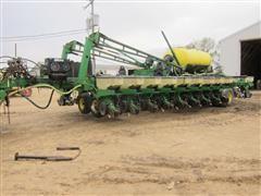 "Custom Bauer Built Precision Planter W/24 30"" Row John Deere Boxes"