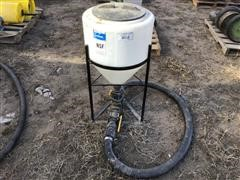 Ace Roto-Mold Chemical Cone Tank & Hoses