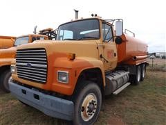 1997 Ford 4000 Gallon T/A Water Tanker Truck