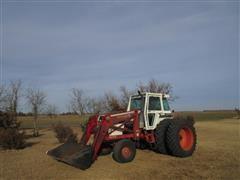 1981 Case IH 2290 2WD Tractor W/Loader